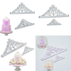 An Crown 2ps Cutting Die Printing Baking Molds Diy Cake Decoration Biscuit Mould Cookies Plastic Tools 1 4hr D2