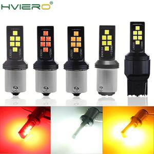 1156 P21W BA15S 1157 P21 / 5W Bay15d T20 W21W 7440 W21 / 5W LED سيارة محمية مصباح السيارات التصميم الفرامل ضوء بدوره إشارة لمبة 12 فولت