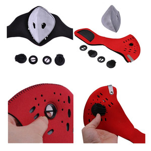 Biking Anti Dust Bike Face Mask With Activated Carbon Man Woman Running Cycling Anti-Pollution Bike Face Isolation Mask HWE3000