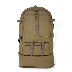 Рюкзак большой емкости лазания сумка 2021 3 цветное холст многофункциональный путешествие на открытом воздухе спортивный отдых туризм DB98