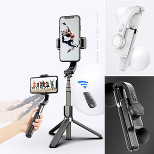 New Bluetooth remote control multi-function mobile phone selfie stick tripod universal Live camera stand free shipping