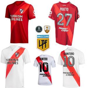 20 21 River Assiette Maillots de foot Jersey Borre Quintero Fernandez Pratto 2020 2021 Football Hommes et Kids Shirts