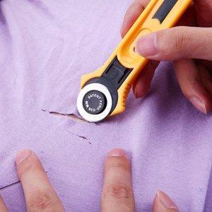 28 мм пэчворк роликовый рулевой нож DIY швейные аксессуары пластиковая ткань для резки ткани для кожаных бумажных тканей ремесло ткани поворотные резак