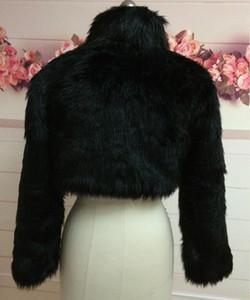 Bolero moda casamento casamento preto marfim branco casaco nupcial wrap manga comprida jaqueta xaile roubou dama de honra falsa cape n3xd
