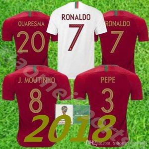 2018 Ronaldo 7 축구 유니폼 Rpepe Carvalho Andre Gomes Moutinho Danilo Nani Gelson Martins Fútbol 축구 Cristano Portuguese