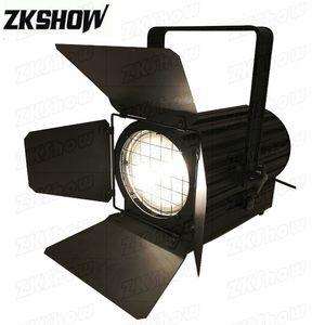 80% Off 4PCS Lot 200W LED Fresnel Spotlight Studio Light for Theater Music Cinema Photography Meeting TV Show Stage Lighting Equipment