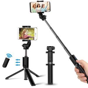 Selfie Stick Tripod Mount Phone Holder Bluetooth Wireless Shutter Stick 360 Rotation Extendable EM88 Z1124