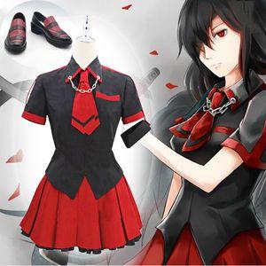 Anime Blood c Kisaragi Saya Dress Cosplay Costume di Halloween per le donne