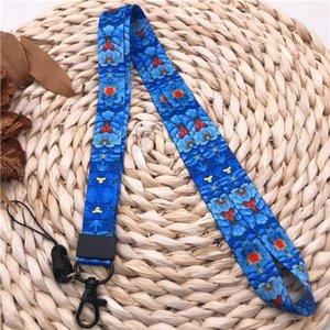 Folk Custom Neck Strap Lanyards For Keys Id Card Gym Mobile Phone Straps Colorful Diy Hang Rope Office Work Tag Lanyard Keycord H sqceXZ
