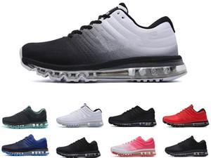 Max 2017 Running shoes shoe venda quente 2017 KPU homens mulheres Running Shoes Qualidade casual mens pé Calçados casuais das sapatilhas ao ar livre dimensionar 36 a 45