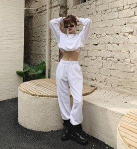 Women 2 PC Sets Sweatpant Letter Print Cotton Pants Autumn Loose Casual Jogger Baggy Trousers Streetwear Solid Pants Sportsuits