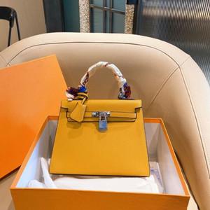 2020 Neue Frauen Original Marke Mode Luxurys Designer Leder Kupplung Tasche Handtaschen 30cm Gold Silber Schnalle Taschen Leder Umhängetaschen