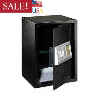 Teclado negro Lock Digital Electronic Safe Box Security Home Office Hotel Large