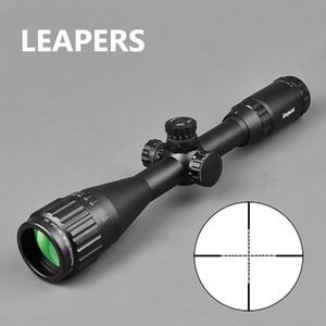 Leapers 3-9x40 Zielfernrohrkope Taktische optische Gewehrbereich Rot Grüner und blauer DOT-Sicht beleuchtet Retalische Ansicht für Jagdbereich