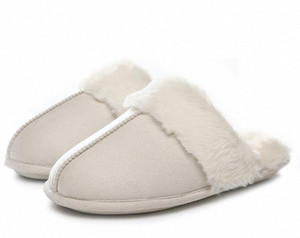 GOLAIMAN Shoes Women Men Anti-slip Warm Home Slipper Fashion Winter Bedroom Casual Flock Slipper Shoes e9Yl#