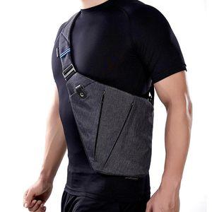 Brands Compact Single Shoulder Storage Bag for Men Waterproof Nylon Anti-theft Crossbody Bags Multifunction Male Messenger Bag