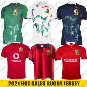 2021 Irish e British Lions Rugby Jersey Training Home Lions Lions National Rugby League Jersey Camicia Dimensione S-5XL