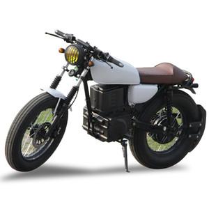 Adulte hors route Racing moto électrique Haute Qualité corne rétro moto 2000w sports adultes vélo haut débit vélo électrique