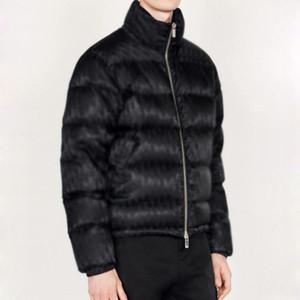20FW Hommme Ollique Jacquard Nuptse Down Куртки зимние теплые открытый горный пальто вниз по куртке Улица Улица HFLSYRF099