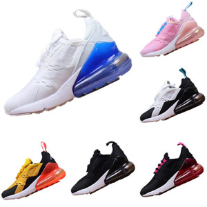 With Box 2019 Kids Mesh Breathable Running shoes Boys Girl children s shoes Half-palm air Cushion Shock-absorbing Jogging Shoes