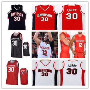 NCAA 2021 Davidson Wildcats Jersey Basketball Curry Kellan Grady Hyunjung Lee Luka Brajkovic Grant Huffman Bates Jones Boachie-Yiago Custom
