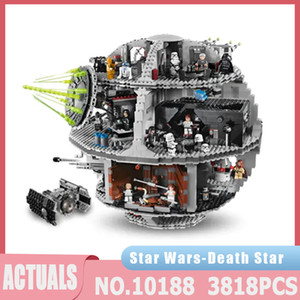 Star Plan Series Death TIE Fighter Compatible 05035 3813PCS Building Blocks Bricks Educational Toys Kids Children Toys Gifts J1204
