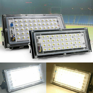 Waterproof Outdoor 50W LED Floodlight Cool Warm White Bulb Flood Light 110V 220V For Garden Street Lamp