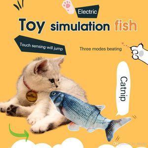 26 cm Cat Toy USB Carica Simulazione elettrica Dancing Moving Floppy Peschi Cat Pet Giocare regalo interattivo