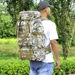 utdoor Tactical Camouflage Sports Backpack l Waterproof Mountaineering Hiking Bag Adjustable
