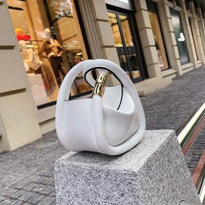 2020 new fashion U Leather Mini Handbags Women Crossbody Bags Unique Design Small Shoulder Messenger Bags Fashion White Clutch Purse ZD1714