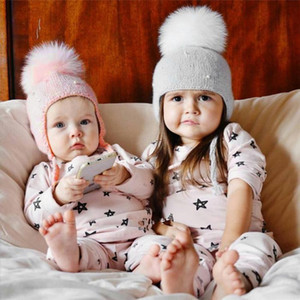 1PCS Toddler Kids Girl Boy Baby Infant Winter Warm Pearl Crochet Knit Hat Beanie Cap for 0-9Y