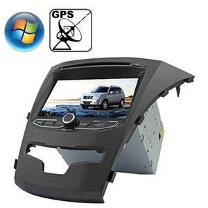 Rundgrace 70 pollici Windows CE 60 TFT Screen in-Dash Car DVD Player per Ssangyong Korando con Bluetooth GPS RDS