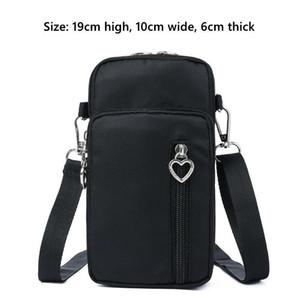 New Modern Cross- Body Mini Mobile Phone Shoulder Bag Pouch Case Belt Handbag Purse Wallet Storage Bag 2020