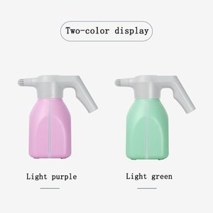 Disinfection Water Bottle Small Electric Watering Can 1.5L Automatic Watering Water Spray High-pressure Rechargeable Sprayer LP