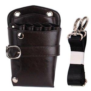 Waterproof Adjustable Strap Pouch Casual Bag Tool Storage Rivet Waist Pack Scissors Holder Barber Hairdresser Shoulder PU