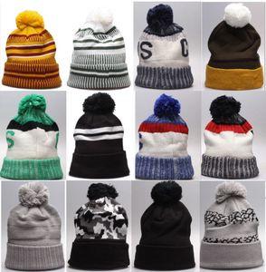 Toptan En Kaliteli Kış Beanie Örme Şapka Özelleştirilmiş Tüm Stprps Beanies Caps Kadın Erkek Popüler Moda Kış Kapaklar 10000 + Stilleri Şapkalar