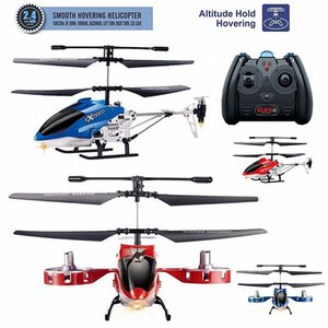 2.4G alloy four way electric fixed height remote control helicopter aircraft model toy