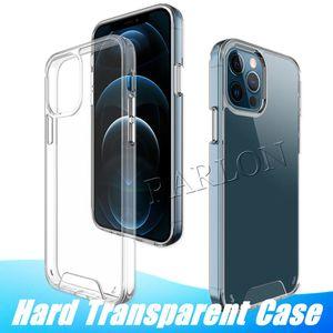 Прозрачный прозрачный прозрачный прозрачный прозрачный прозрачный PCU PCU, ударопрочный жесткий чехол для iPhone 12 Mini 11 Pro Max XR XS 6 7 8 плюс заводских продаж