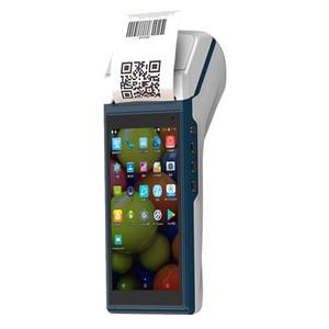 ZKC5501 MINI آلة المحمولة المحمولة مع قارئ الباركود وطابعة حرارية