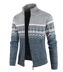 Plus Size XXXL Maglione uomo Designer Vintage Designer Maglia SweetaCoat Uomo Stile europeo Stile Maglioni uomo Cappotto Coat Pattern Cardigan Lana A384