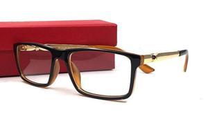 Yeni Miyopi Gözlük Çerçevesi erkek Moda Okuma Gözlükleri Kare Tam Kare Gözlük Gözlük