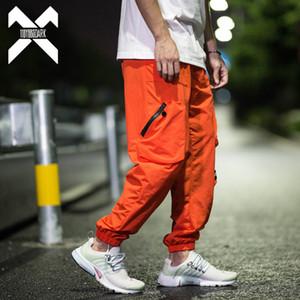 11 Pantalons Dark Ankle-Longueur de ByBb Men Femmes Fashion Cargo Pantalons Harem Joggers Harajuku Couples Hip Hop Hop Hop DG524 X1218