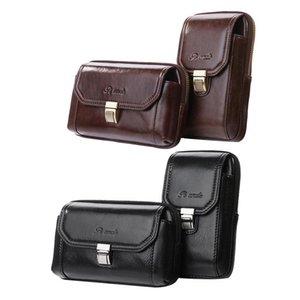 Bolsa de cinturón retro de cuero de Auau-Pi Tío Bolsa de hombro de hombre Mensajero Mensajero Pequeño primer cuero de la capa