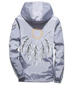 Ailooge 2020 penas asa jaqueta windbreaker homens mulheres jaqueta masculina primavera outono faculdade jaquetas