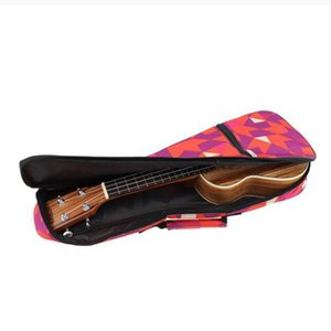 4 String Ukulele Gig Bag Carry Handle Case for 21\'\'   23\'\'  26\'\' Concert Ukulele Thick Padding Shoulder Backpack Hand Bags