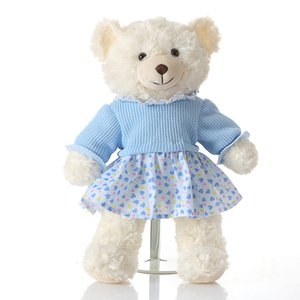 الطفل محشوة الدب لعب الأطفال أفخم الدب لعبة بنين بنات دمى الزفاف الديكور لعبة XHX 001-1