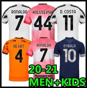 Высочайшее качество 20 21 Домашний футбол Джерси Взрослый мужчина Третий четвертый 4-й Вратарь Детский Мальчик Kit 2020 2021 Футбольная рубашка