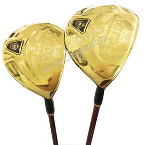 Neue Männer Golfclubs Maruman Majesty Prestigio 9 Golf Holz 3/5 Loft Fairway Holz Graphitwelle und Kopfkoover Kostenloser Versand