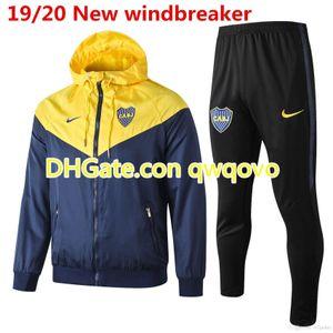 19 20 Boca Juniors mens full jacket Benedetto hoodie CABJ tracksuits winter coat Naindez Pavon training shirt Mas football windbreaker
