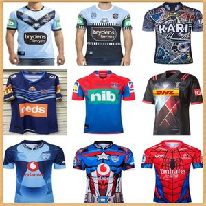 2020 Lions Hero Edition Harlequins Costa Titans Gesso di rugby Indigeni Tutte le stelle Holden Knights Cavalieri Rugby Camicia Bulls Super England Training Jersey